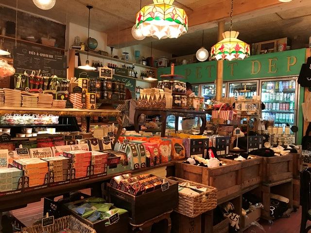 Montreal, Kanada, Vieux Ville, Dépanneur Café, Rue Saint Paul