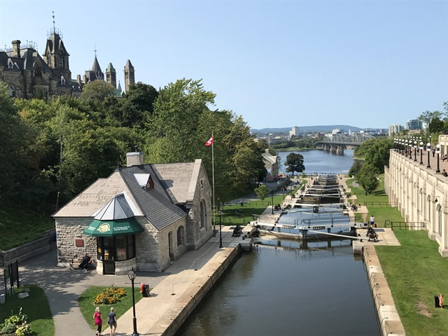 Ottawa, Ontario, Kanada, Rideau Kanal, John By