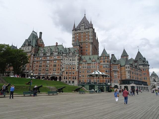 Quebec, Kanada, Vieux Quebec, Oberstadt, Hotel Fairmont Château Fontenac