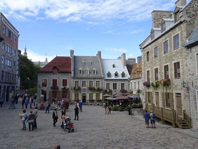 Quebec, Kanada, Vieux Quebec, Unterstadt, Notre Dame des Victoires