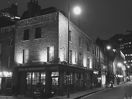Jack the Ripper Tour, London, East End, UK, England