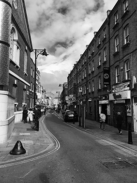 Jack the Ripper Tour, London, East End, Brick Lane, Curry Meile,, UK, England