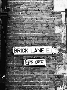 Jack the Ripper Tour, London, East End, Brick Lane, Curry Meile, UK, England