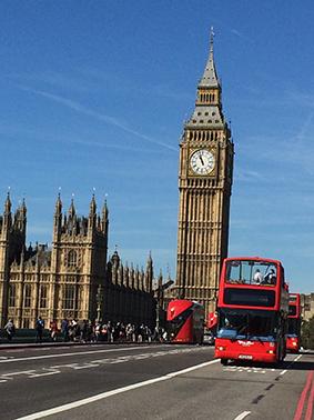 London, England, UK, London-Walk, Sight Seeing, Big Ben, Doppeldecker