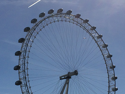 London, England, UK, London-Walk, Sight Seeing, London Eye