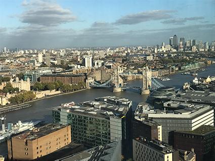 London, England, UK, London-Walk, Sight Seeing, The Shard, Oblix Bar