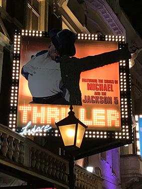 London, England, UK, London-Walk, Sight Seeing, Musical, Thriller, Michael Jackson