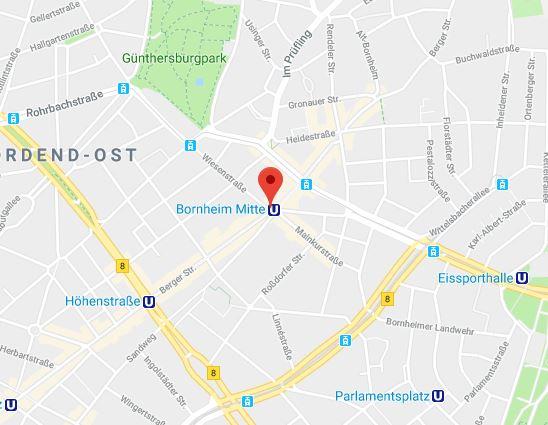 Bergerstrasse, Frankfurt, Deutschland
