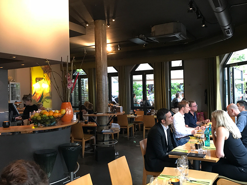 Bergerstrasse, Frankfurt, Deutschland, Ginko
