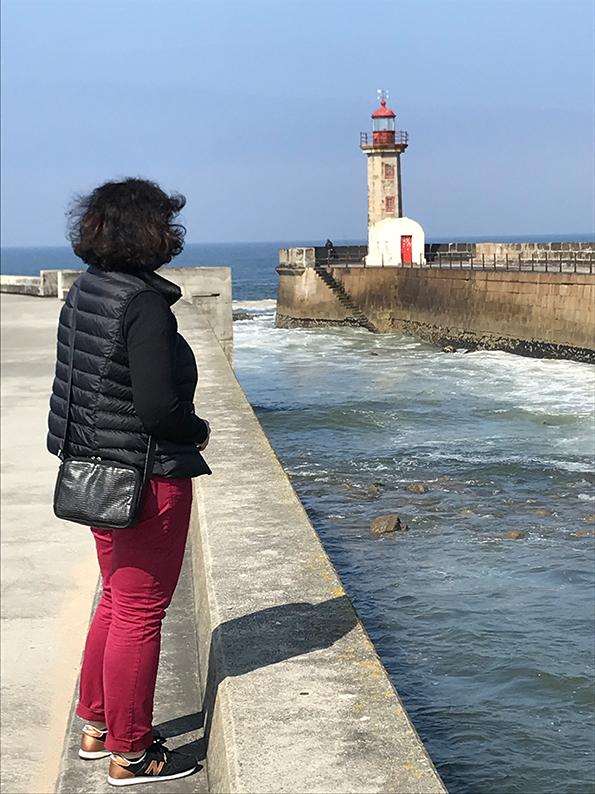 Porto, Portugal, Douro, Tram, Farol
