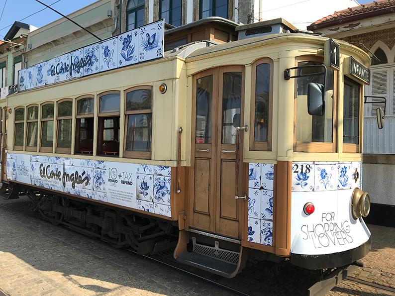 Porto, Portugal, Douro, Tram