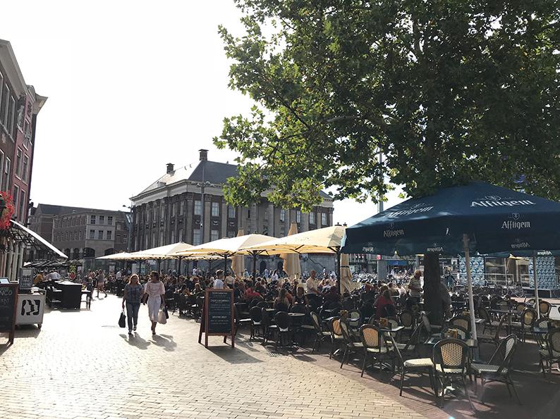 Groningen, Niederlande, Holland, Grote Markt