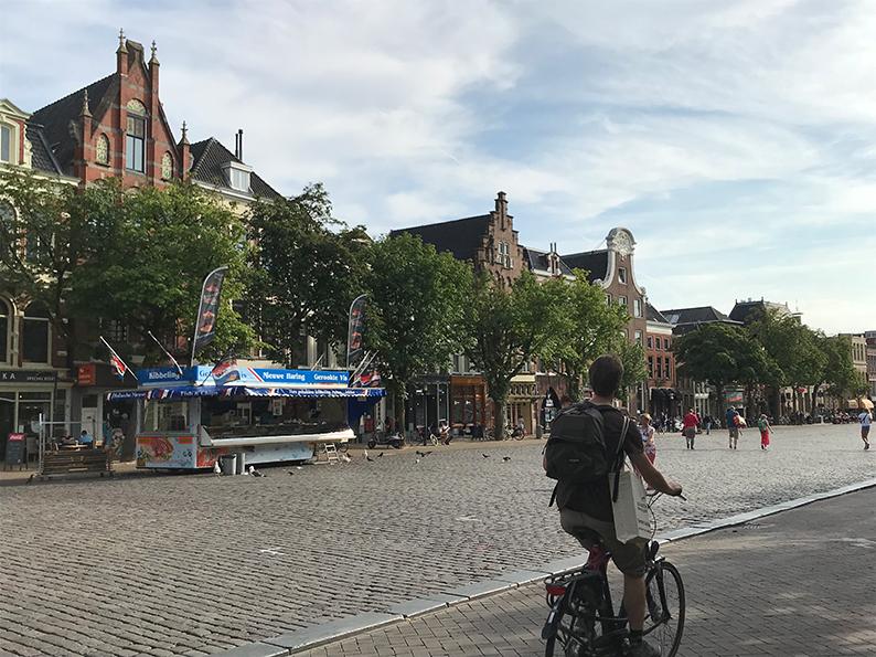 Groningen, Niederlande, Holland, Vismarkt