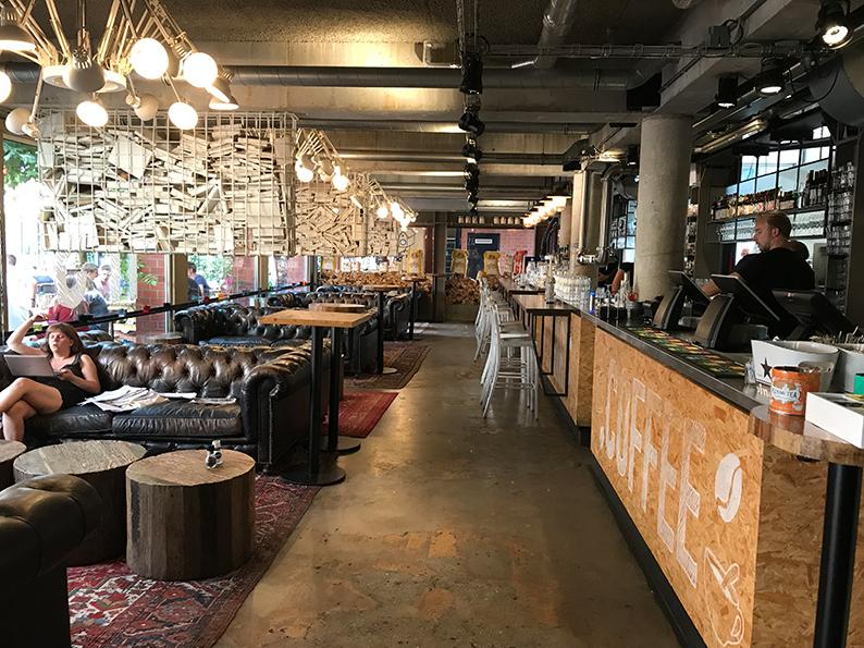 Groningen, Niederlande, Holland, Restaurant, De Uurwerker