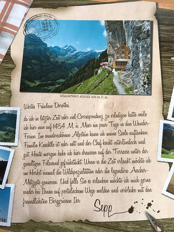 Aescher, Wildkirchli, Ebenalp, Appenzell, Schweiz, Röschti