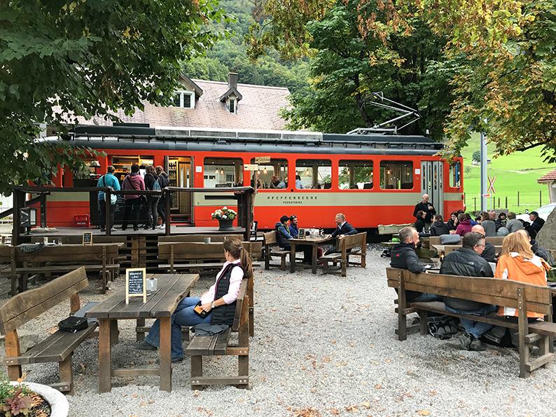 Aescher, Wildkirchli, Ebenalp, Appenzell, Schweiz, Pfefferbeere
