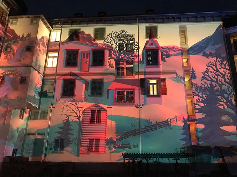 Tamina Lumina, Lightragaz, Tamina, Bad Ragaz, Schweiz