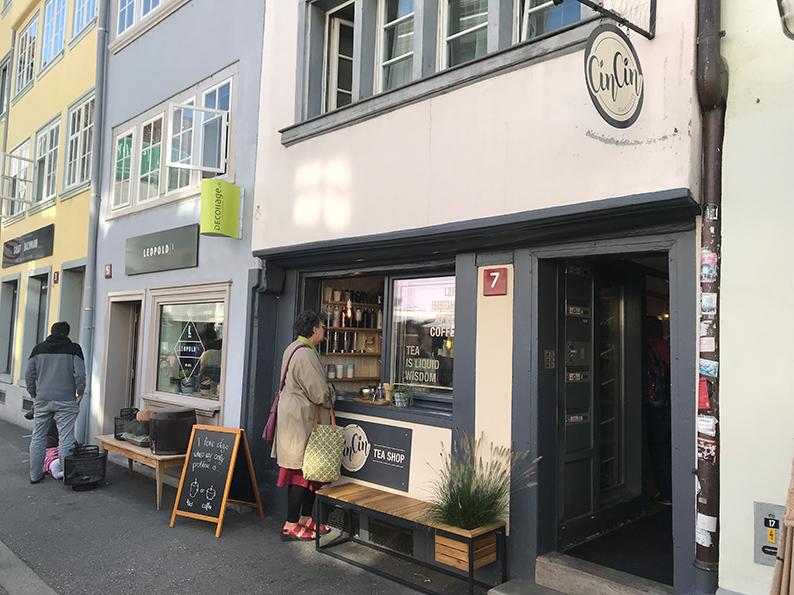 Winterthur, Café, CinCin, Tee, Schweiz