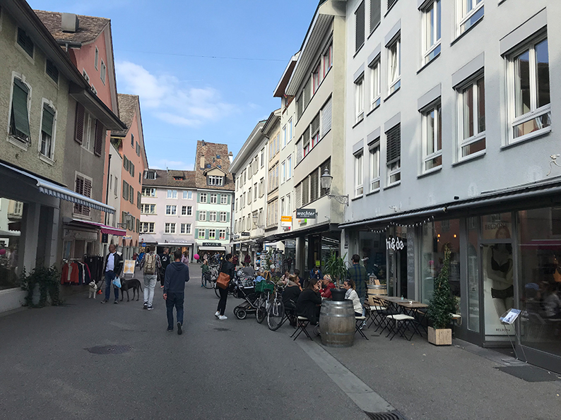 Winterthur, Café, Hi & Da, Schweiz