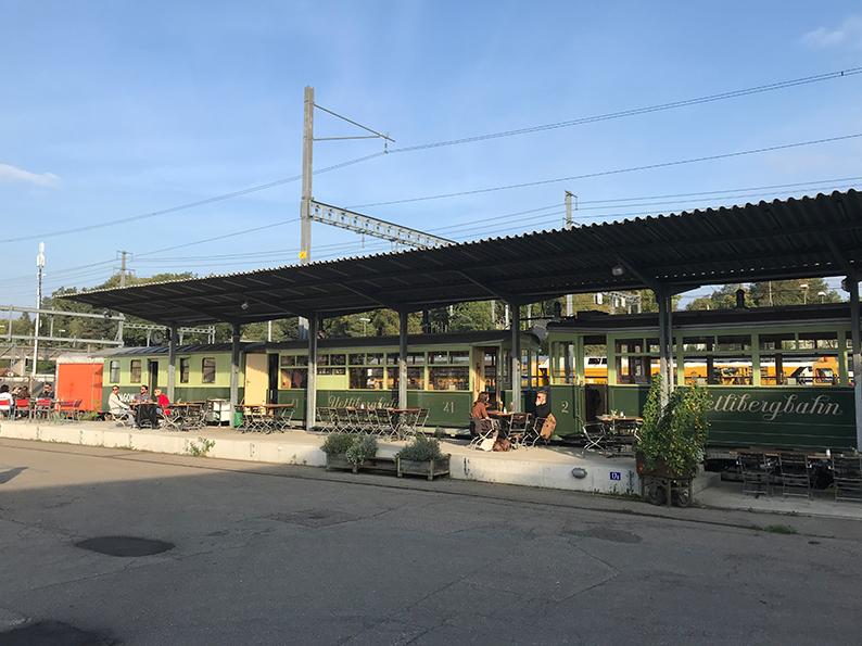 Winterthur, Café, Les Wagons Bistro & Bar, Schweiz