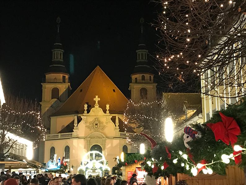 Ludwigsburg, Deutschland, Weihnachtsmarkt, Barockweihnachtsmarkt