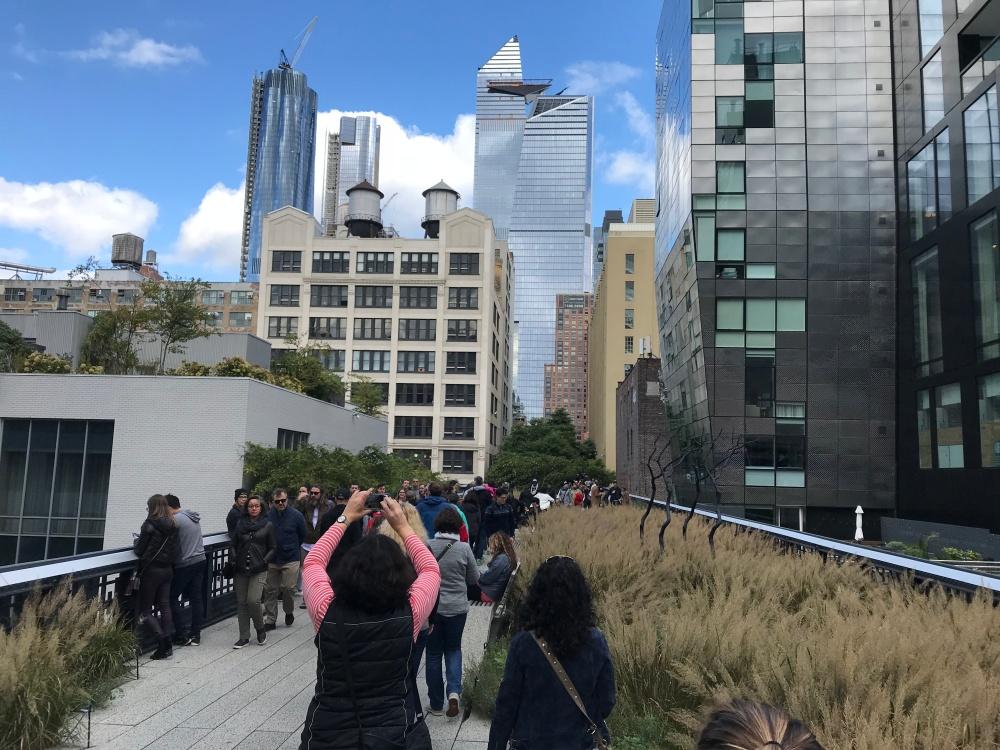 New York, USA, Geburtstagsreise, Reisenotizbuch, Manhattan, Highline