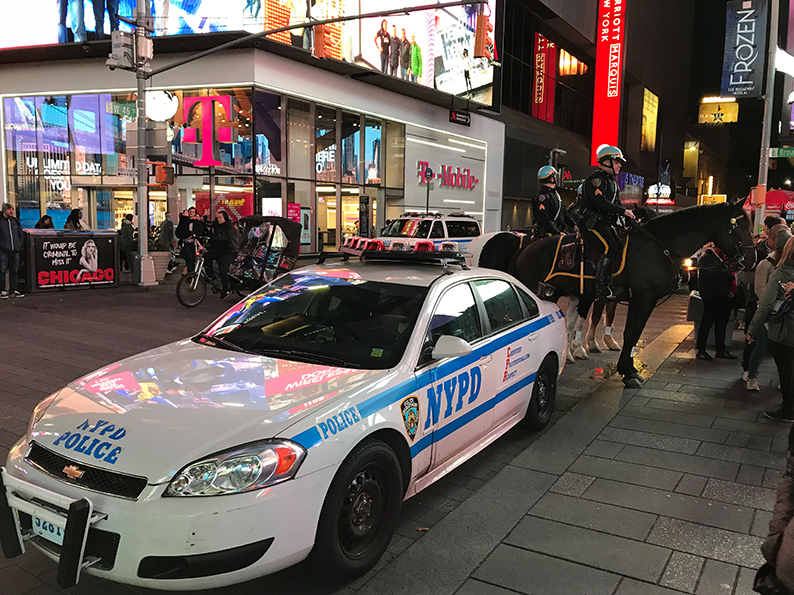 New York, Manhattan, USA, NYPD, Geburtstagsfeier