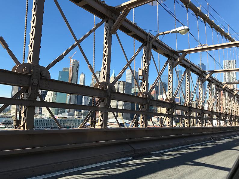 New York, Manhattan, USA, NYPD, Geburtstagsfeier, Brooklyn Bridge