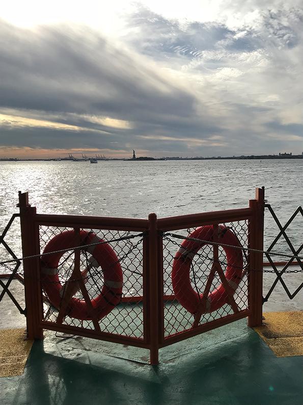 New York, Manhattan, USA, Geburtstagsfeier, Staten Island Ferry