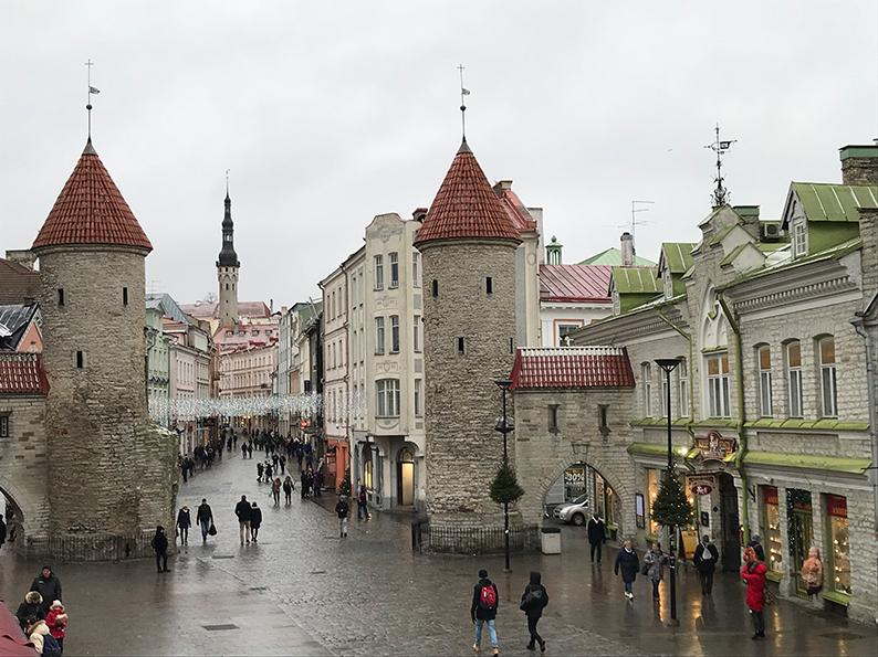 Tallinn, Estland, Baltikum, Reisenotizbuch, Viru Tor