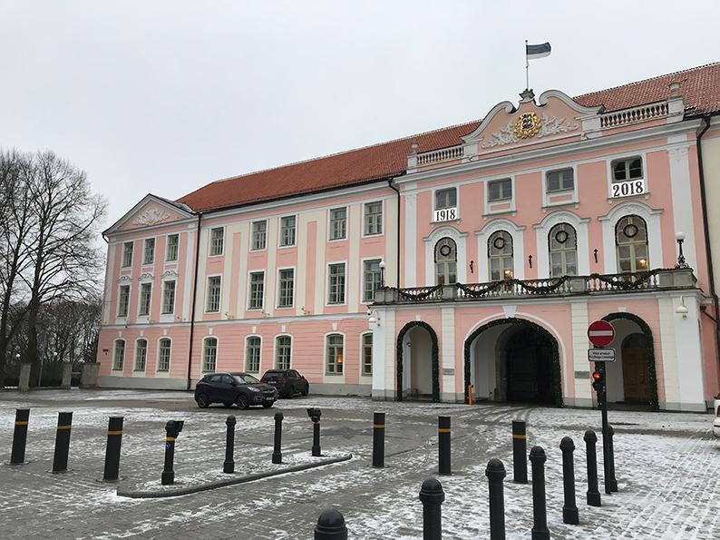 Tallinn, Estland, Baltikum, Reisenotizbuch, Parlament