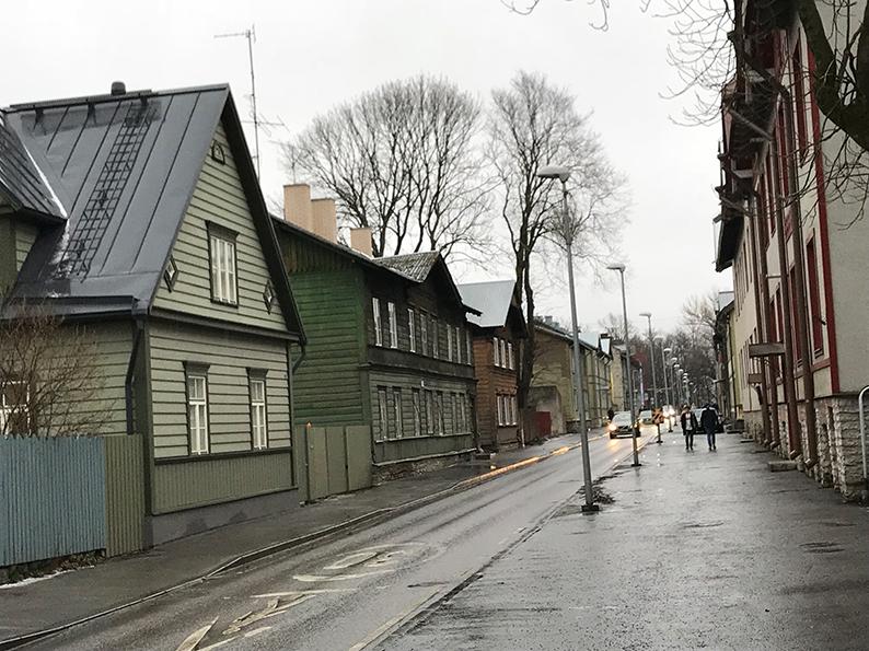 Tallinn, Estland, Baltikum, Reisenotizbuch, Kalamaja