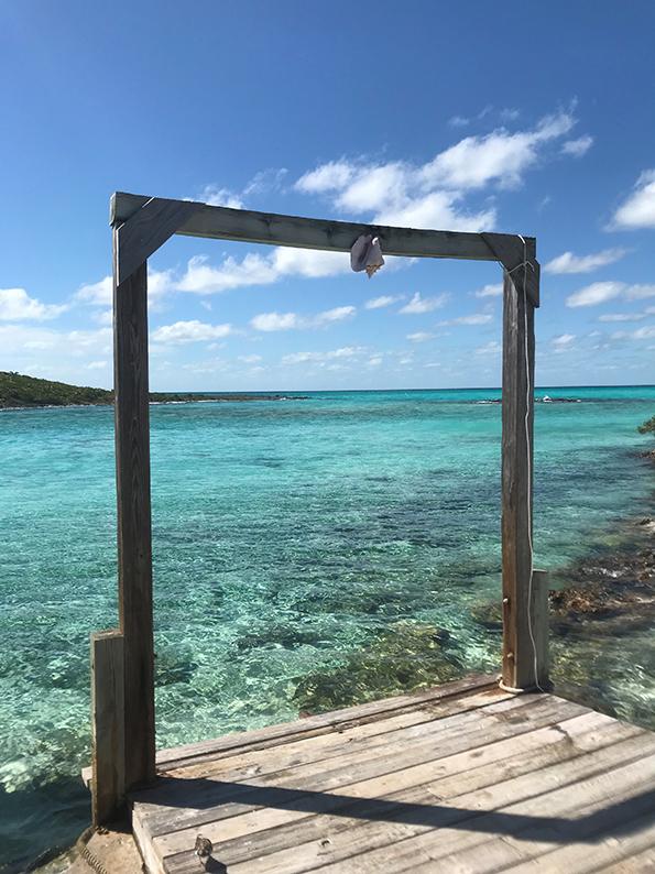 Bahamas, Power Boat Adventures, Iguana, Leguan, schwimmende Schweine, Ship Channel Cay, Allen's Cay