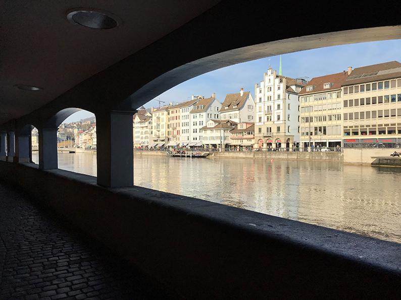 Zürich, Schweiz, Schipfe