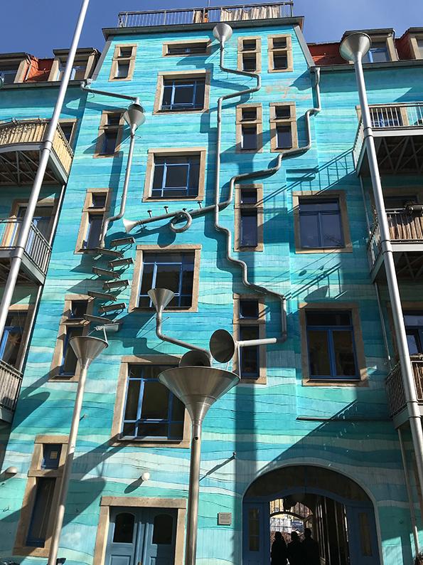 Dresden, DDR, Ostdeutschland, Deutschland, Kunsthofpassage