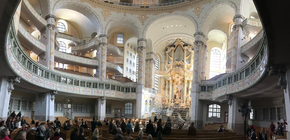 Dresden, DDR, Ostdeutschland, Deutschland, Frauenkirche
