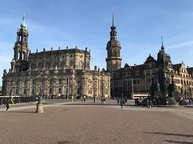 Dresden, DDR, Ostdeutschland, Deutschland, Residenzschloss