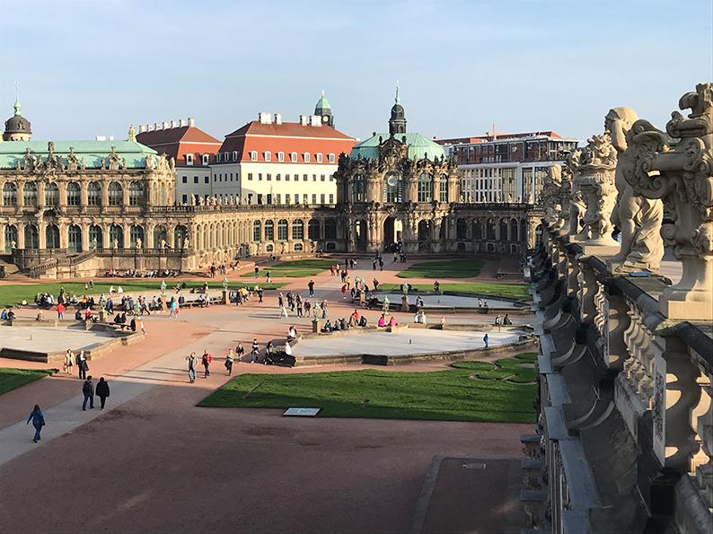 Dresden, DDR, Ostdeutschland, Deutschland, Zwinger