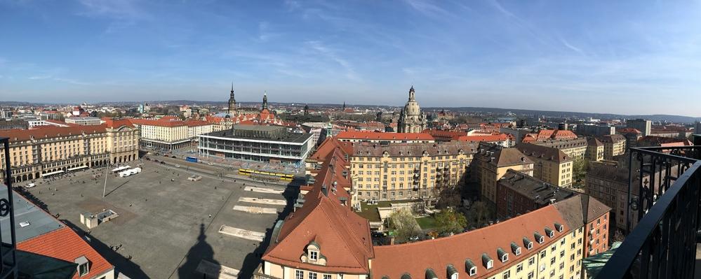 Dresden, DDR, Ostdeutschland, Deutschland, Kreuzkirche