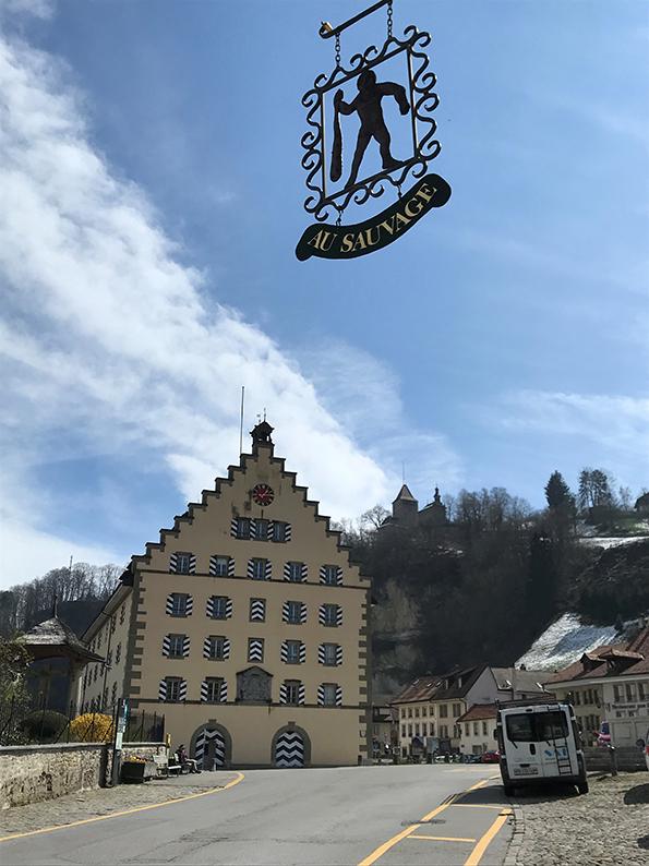 Fribourg, Freiburg, Schweiz, Café Hopping, Basse-Ville, Kaserne