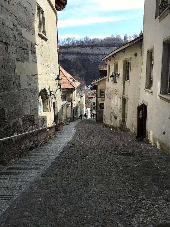 Fribourg, Freiburg, Schweiz, Café Hopping, Stalden