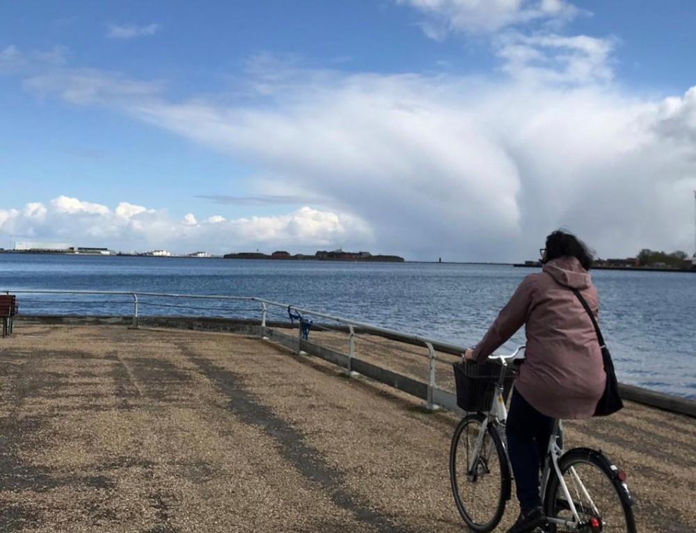 Kopenhagen, Dänemark, Fahrrad, Velo