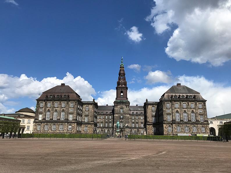 Kopenhagen, Dänemark, Fahrrad, Velo, Schloss Christiansborg