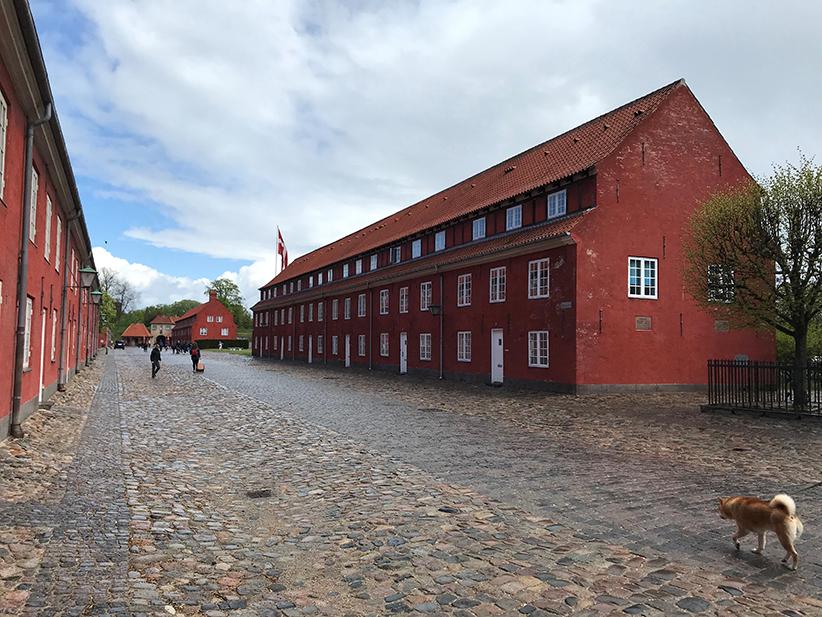 Kopenhagen, Dänemark, Fahrrad, Velo, Kaserne