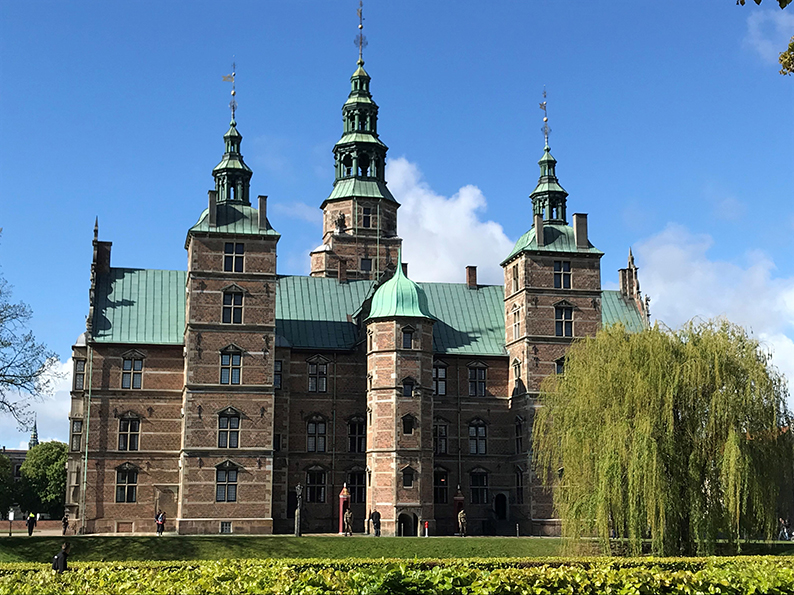 Kopenhagen, Dänemark, Fahrrad, Velo, Rosenborg Schloss