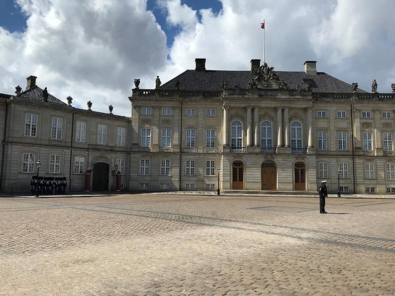 Kopenhagen, Dänemark, Fahrrad, Velo, Schloss Amalienborg
