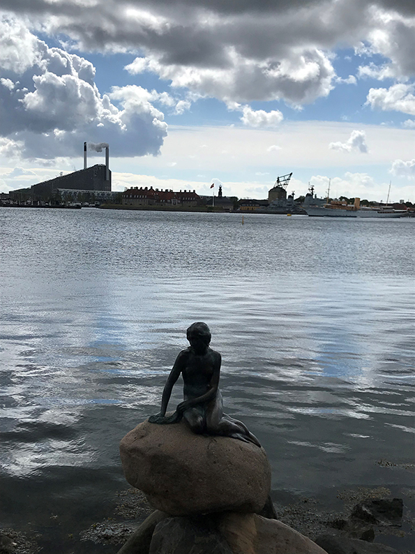 Kopenhagen, Dänemark, Fahrrad, Velo, Kleine Meerjungfrau
