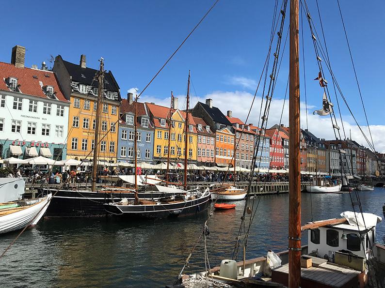 Kopenhagen, Dänemark, Fahrrad, Velo, Nyhaven