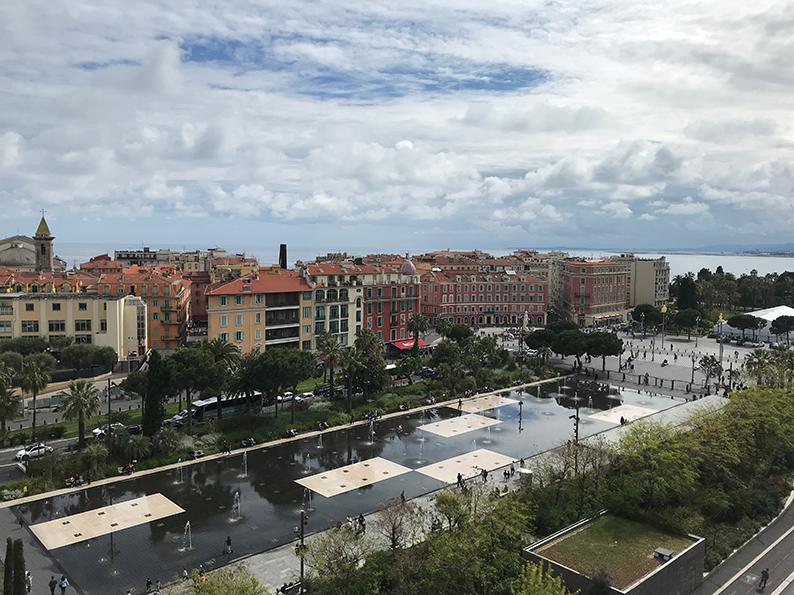 Nizza, Côte d'Azur, Frankreich, Promenade des Anglais, I love Nice, Place Massena