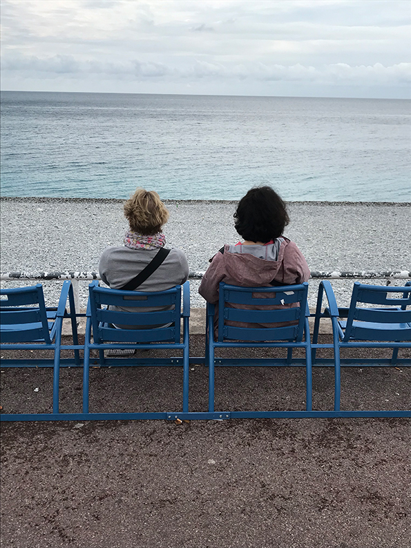 Nizza, Côte d'Azur, Frankreich, Promenade des Anglais